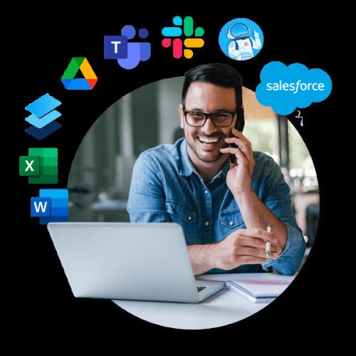RFP - Slack, Teams & Salesforce header image